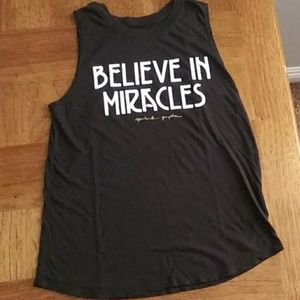 Spiritual Gangster BELIEVE IN MIRACLES Muscle Tank